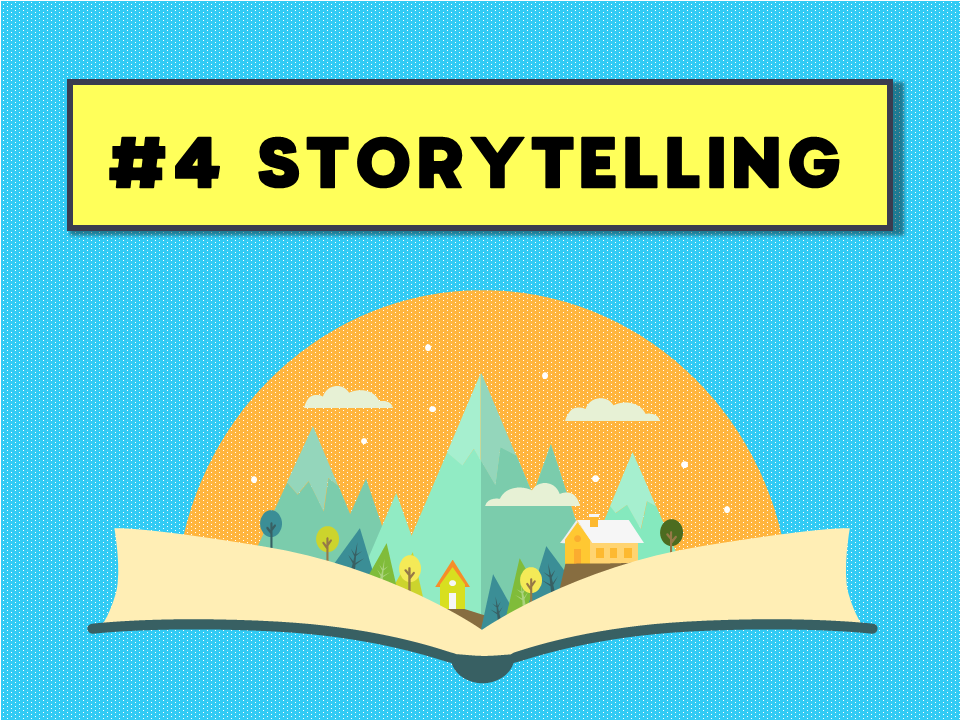 guide to a great webinar - be a good storyteller
