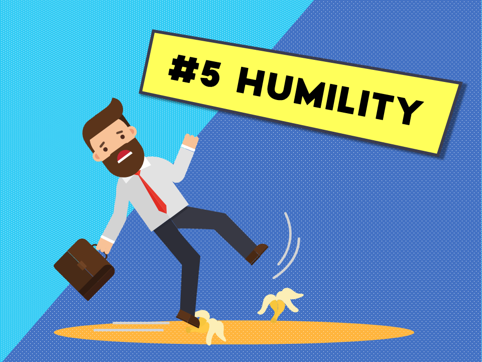 tips to host the best webinar - practice humility
