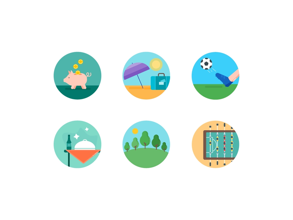 icons styles - flat icons - powerpoint icons