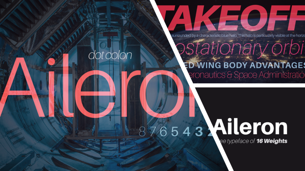 cool powerpoint fonts - aileron presentation font